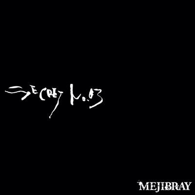 Secret No. 03 Regular Version - Single - Mejibray