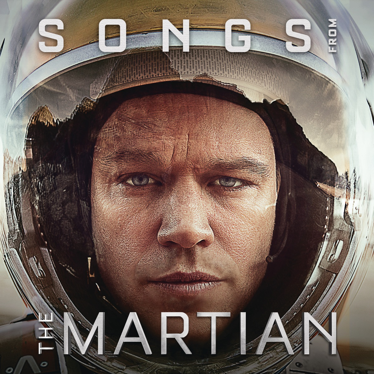 Songs from the Martian Music From the Motion Picture Various Artists CD cover