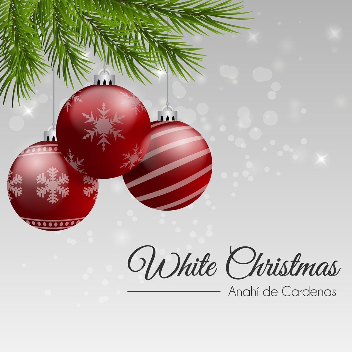 White Christmas - Single Album Cover by Anahi De Cardenas