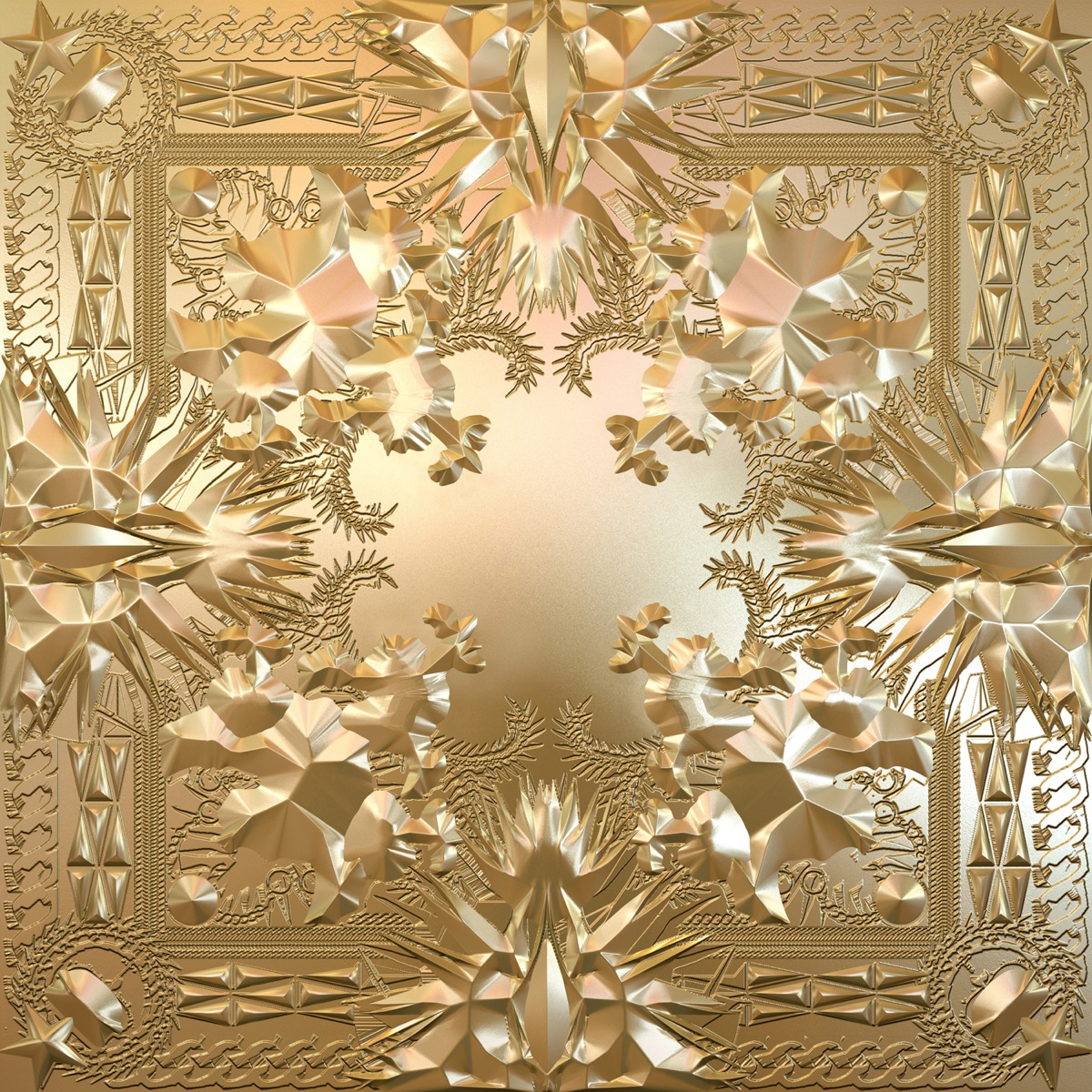 Watch the Throne JAY-Z  Kanye West CD cover