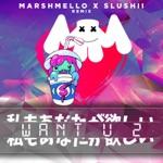 songs like Want U 2 (Marshmello & Slushii Remix)