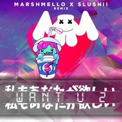 View album Want U 2 (Marshmello & Slushii Remix) - Single