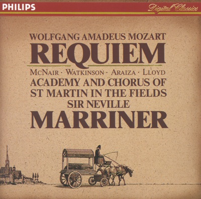 Mozart: Requiem - Academy of St. Martin in the Fields & Sir Neville Marriner album