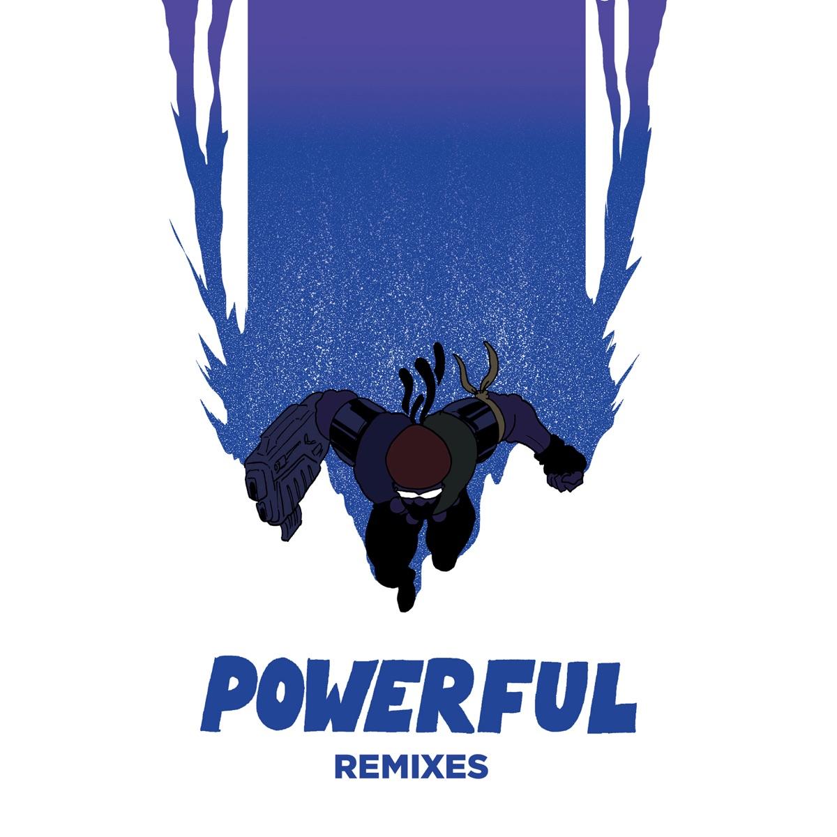 Powerful feat Ellie Goulding  Tarrus Riley Remixes - EP Major Lazer CD cover