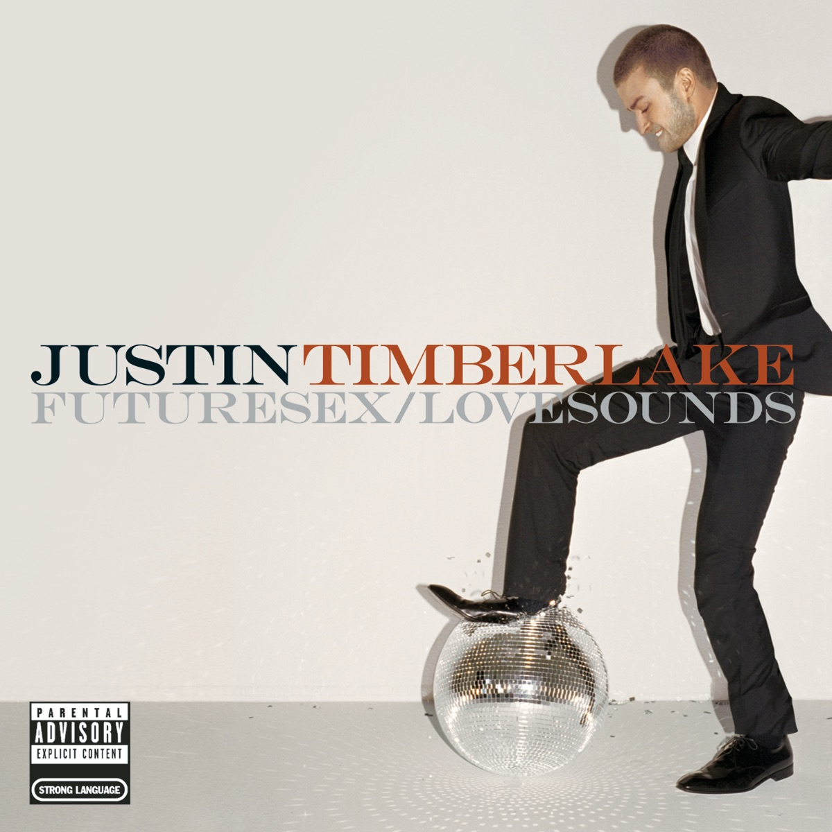 FutureSexLoveSounds Justin Timberlake CD cover