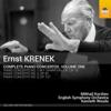 Mikhail Korzhev, English Symphony Orchestra & Kenneth Woods - Krenek: Complete Piano Concertos, Vol. 1 artwork