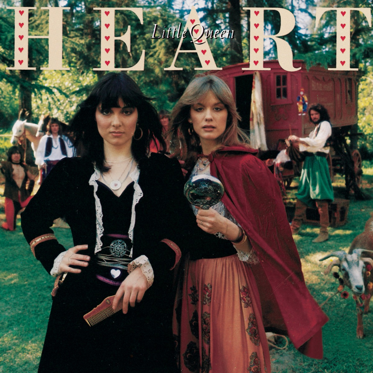 Little Queen Album Cover by Heart