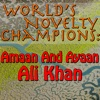World s Novelty Champions Amaan and Ayaan Ali Khan