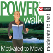 Power Walk - Motivated to Move (47 Min Non-Stop Workout [130-141 BPM] Perfect for Moderate to Fast Paced Walking, Elliptical, Cardio Machines and General Fitness) - Power Music Workout - Power Music Workout