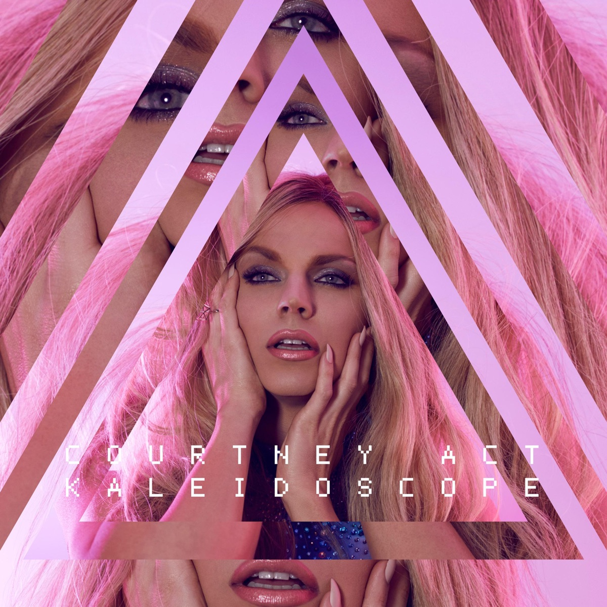 Kaleidoscope - EP Courtney Act CD cover