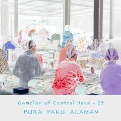 Gamelan of Central Java - 23 Pura Paku Alaman