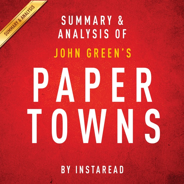 Paper towns john green download