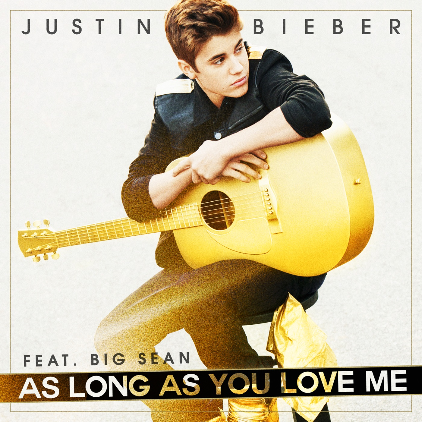 Justin Bieber - As Long As You Love Me (feat. Big Sean) - Single Cover