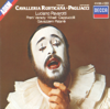 Mascagni: Cavalleria Rusticana & Leoncavallo: Pagliacci - Gianandrea Gavazzeni, Giuseppe Patanè, Luciano Pavarotti & National Philharmonic Orchestra