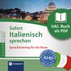 Ivana Ventresca Segers - Sofort Italienisch sprechen - Sprachtraining fГјr die Reise: Compact SilverLine - Italienisch Grafik