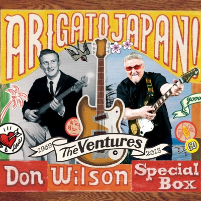 Arigato Japan! Don Wilson Special Box - The Ventures