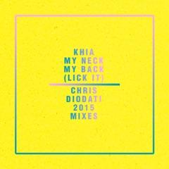 My Neck, My Back (Lick It) [Chris Diodati 2015 Acappella]