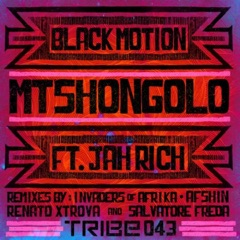 Mtshongolo (feat. Jah Rich) [Afshin Deep Mix]