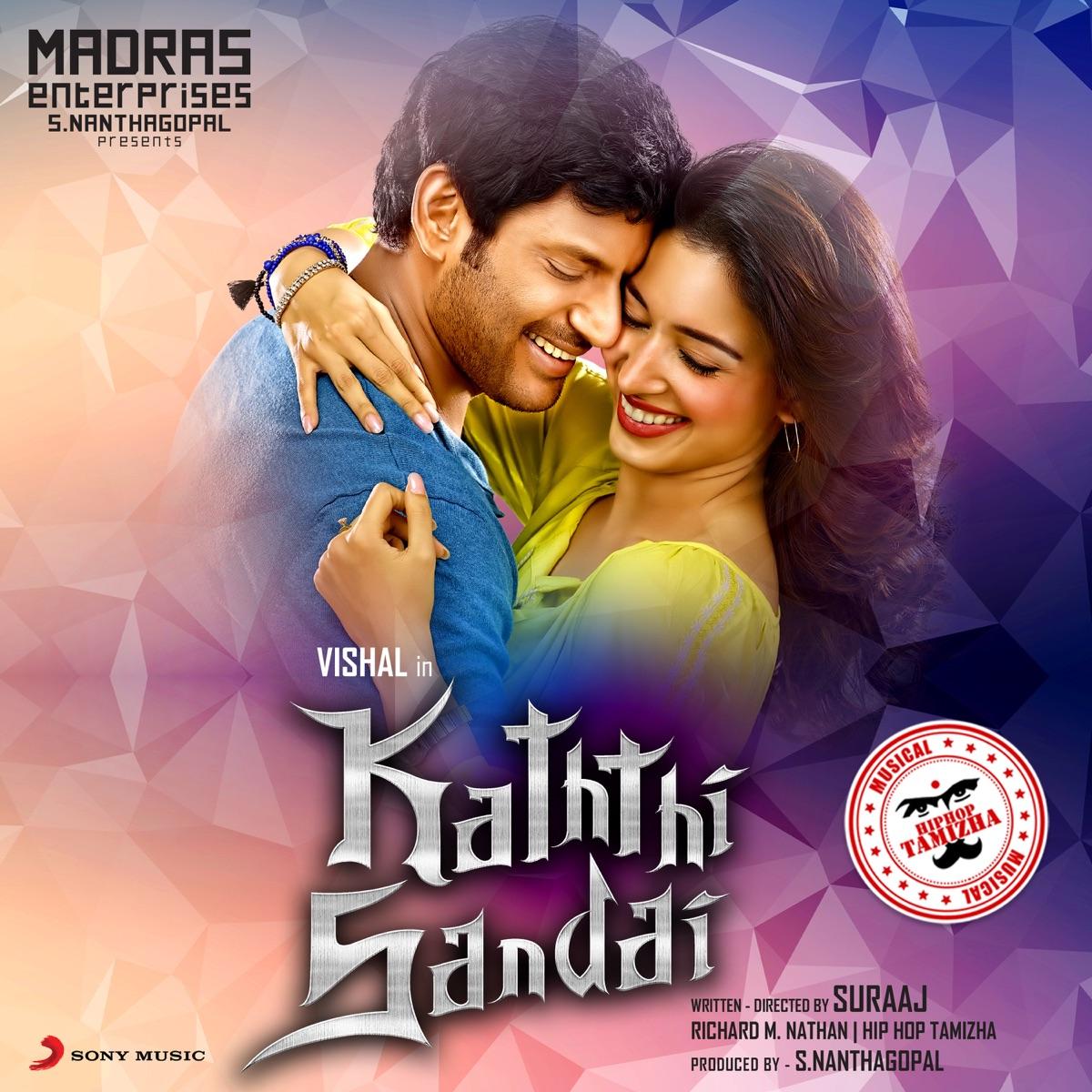 kaththi sandai album coverhiphop tamizha