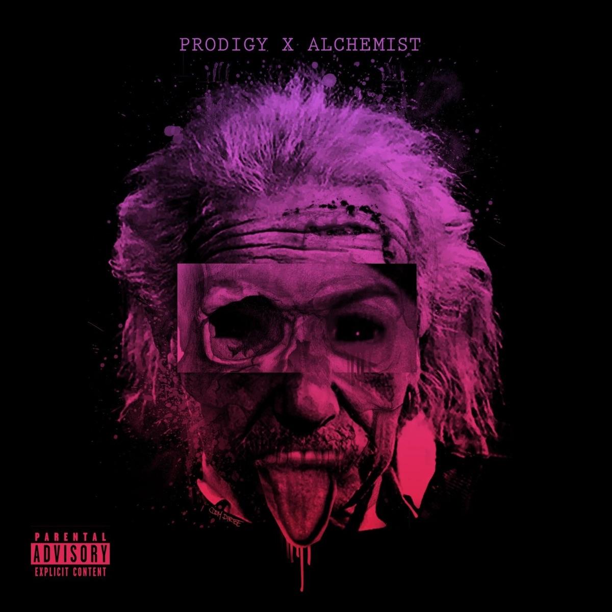 Albert Einstein Prodigy  Alchemist CD cover