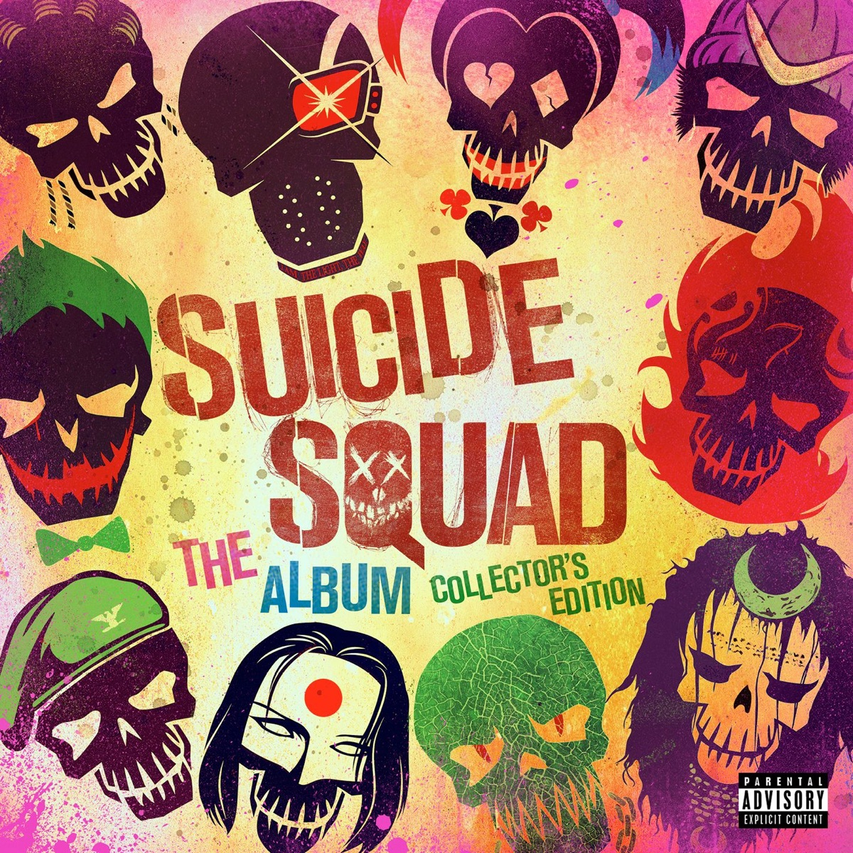 Suicide Squad The Album Collectors Edition Various Artists CD cover