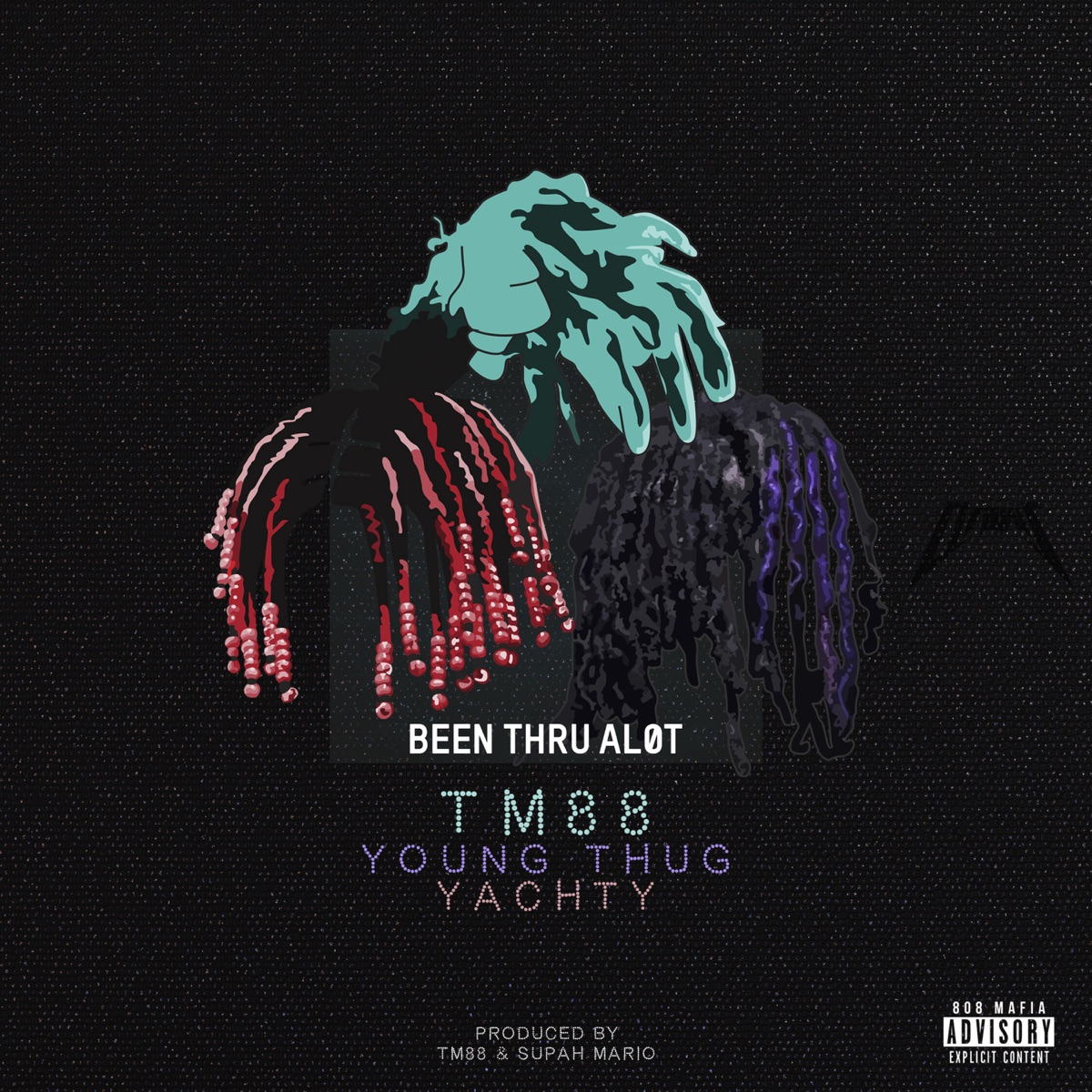 Been Thru a Lot - Single TM88 Young Thug  Lil Yachty CD cover