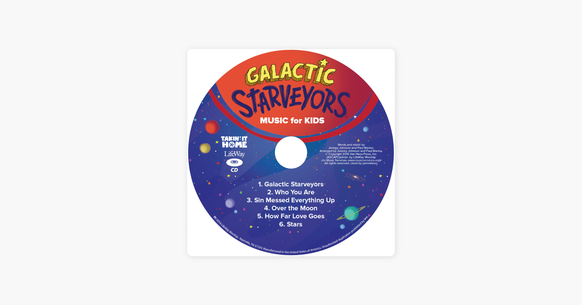 ‎VBS 2017 Galactic Starveyors Music for Kids - EP by LifeWay Kids Worship