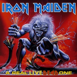 A Real Live Dead One - Iron Maiden Album Cover