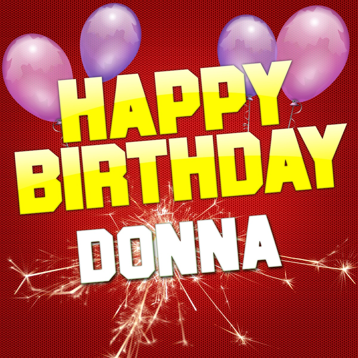 Happy Birthday Donna EP Album Cover by White Cats Music
