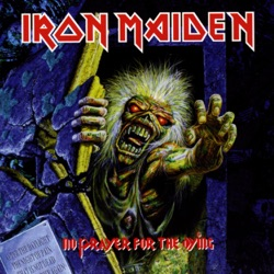 No Prayer for the Dying - Iron Maiden Album Cover