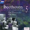 "Beethoven: String Quartets, Op. 59 No. 2 ""Rasumovsky"" & Op. 74 ""Harp"" - The Lindsays"