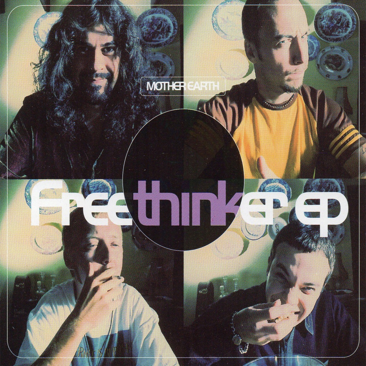 The Freethinker - EP Mother Earth CD cover