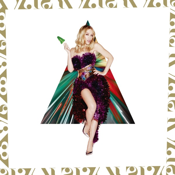 Kylie Minogue mit Christmas Lights