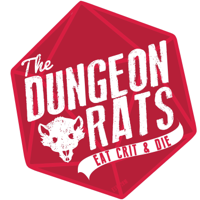 Podcast cover art for The Dungeon Rats