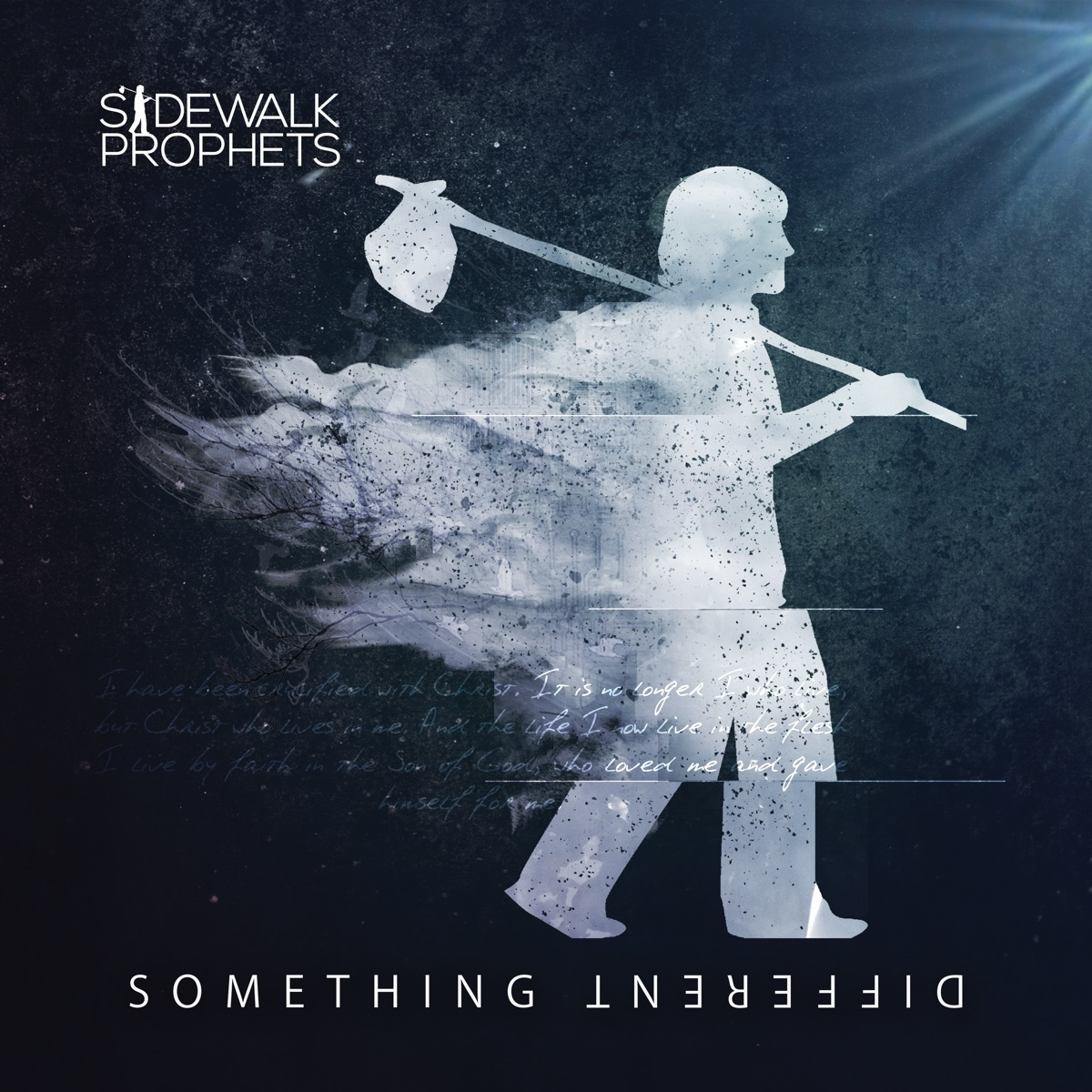 Something Different Deluxe Version Sidewalk Prophets CD cover