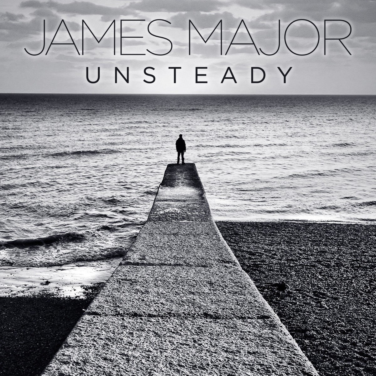 Unsteady - Single Album Cover by James Major