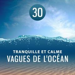 30 Tranquille et calme vagues de l'océan - Bruit de la mer et sons d'ambiances extérieures: L'eau de guérison pour relaxation, Méditation, Endormissement