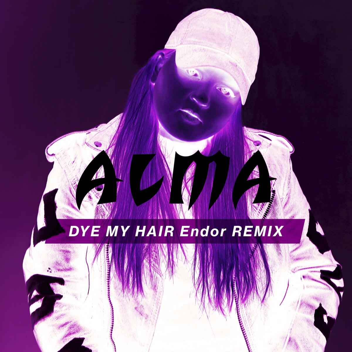 Dye My Hair Endor Remix - Single ALMA CD cover