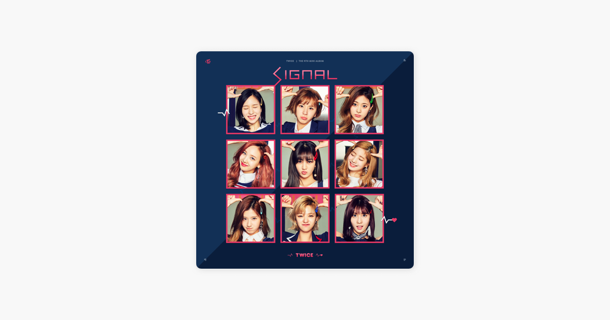 SIGNAL - EP by TWICE