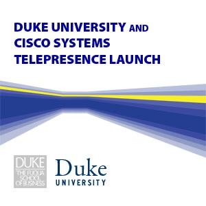 Duke University and Cisco Systems Telepresence Launch - Video (SD)