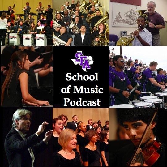 SFA Music Audio Podcast