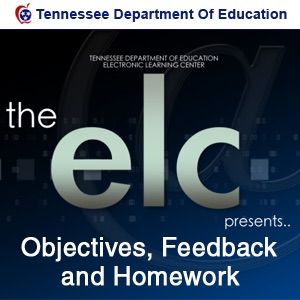 Objectives, Feedback and Homework
