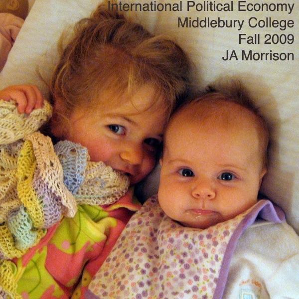 Podcast – International Political Economy (Fall 09)