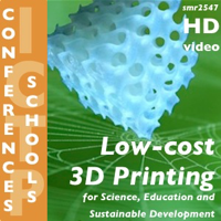 """Podcast cover art for First International Workshop on """"Low-cost 3D Printing for Science, Education and Sustainable Development"""""""