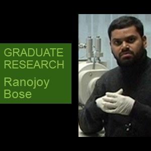 Ranojoy Bose - Mechanical Engineering - Video
