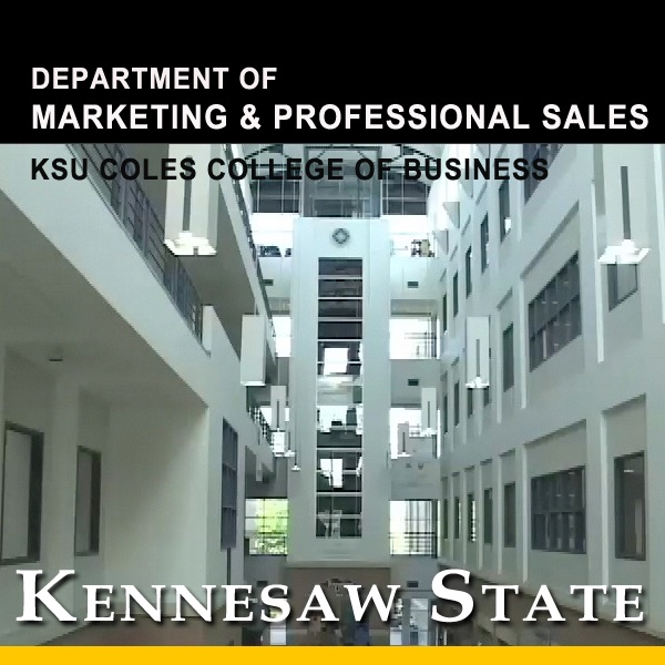 Department of Marketing and Professional Sales in Coles College of Business