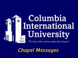 Columbia International University's Podcast: 05/04/2019