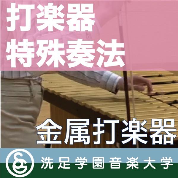 打楽器特殊奏法「金属打楽器」