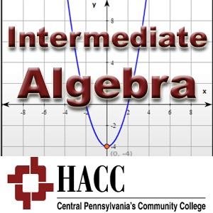 MATH 051: Intermediate Algebra - lb