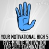 Your Motivational High 5 artwork